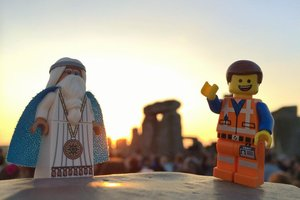 What's more awesome than Glastonbury? Lego Glastonbury - photo 2