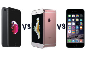064f3772068 Apple iPhone 7 vs iPhone 6S vs iPhone 6: What's the difference?