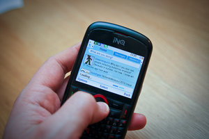 INQ Chat 3G review - photo 6
