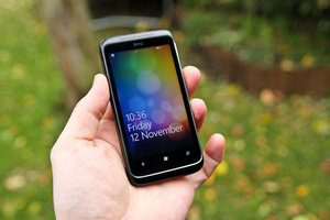 HTC 7 Trophy review - photo 1
