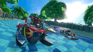 Sonic and Sega All Stars Racing Transformed (Wii U) review - photo 3