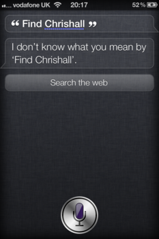 iPhone 4S Siri