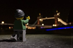 the type of photography he does, certainly not for the Lego series