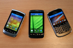 BlackBerry Torch 9860 with Bold and Torch 9810
