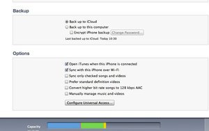 iTunes Wi-Fi syncing