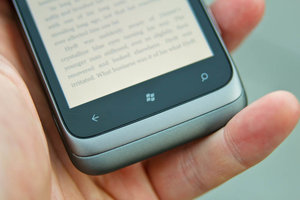 HTC Radar back home search buttons