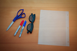 bits you need to make 3D glasses