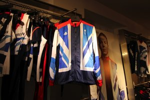Team GB Presentation Suit