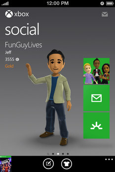 Xbox SmartGlass for iPhone
