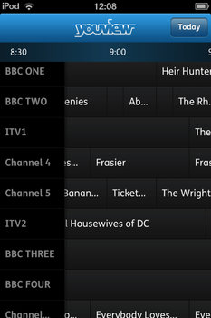 YouView iPhone app
