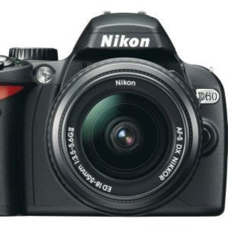 Nikon extends cashback offer on D60 camera kits