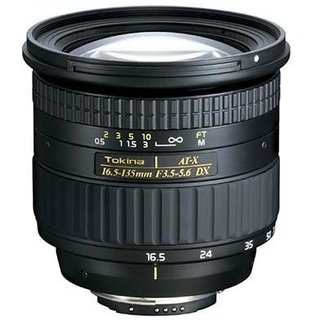 Tokina AT-X 16.5-135 DX lens launched