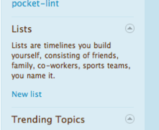 Twitter brings Lists to the masses