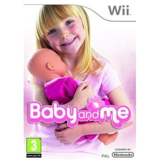 "Nintendo Wii ""Baby and Me"" game comes complete with doll-mote"