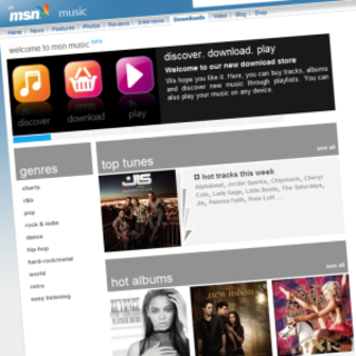 Microsoft relaunches music download store