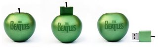 Beatles offer 16GB apple-shaped USB drive