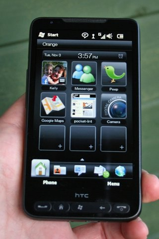HTC HD2 funky features fun