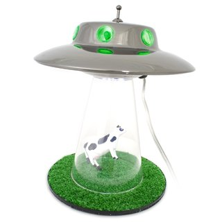 Firebox offers Alien Abduction Lamp