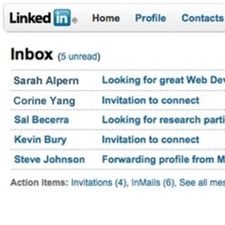 LinkedIn testing a new site design