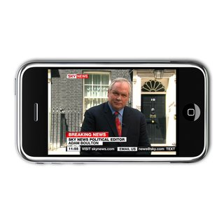 Sky Mobile TV launches for the iPhone