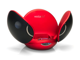 "Vestalife unveils novelty ""Firefly"" iPod speaker dock"