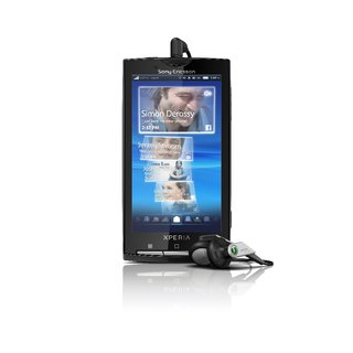 Sony Ericsson Xperia X10 dated