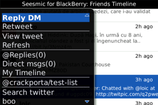 Seesmic BlackBerry and Android apps released