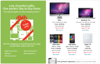 Apple UK Black Friday deals likely to disappoint