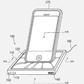 Apple patents spongy shape changing universal dock