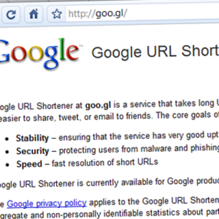 Google and Facebook launch URL shorteners