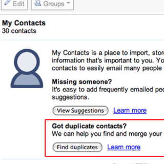 Gmail gets duplicate contact removal tool