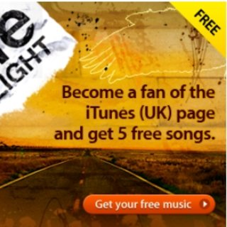 iTunes offers five free songs Facebook bribe