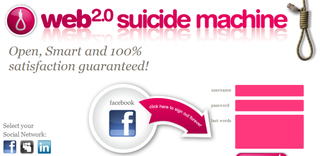 Web 2.0 Suicide Machine launches