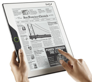 Skiff Reader takes e-readers 11.5-inches big