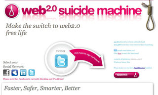 Facebook squeezes out Web 2.0 Suicide Machine