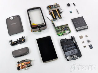 Google Nexus One gets torn apart