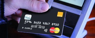 New Orange Credit Card offers contactless payments