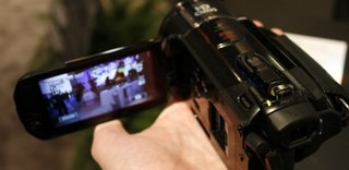 Canon's LEGRIA HF S21 camcorder hands-on
