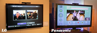 LG and Panasonic Skype TVs hands-on