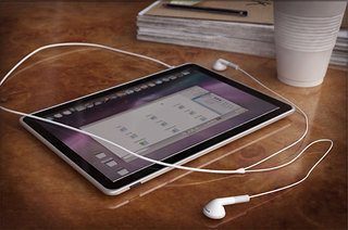 What will the Apple iTablet look like? Something like this...