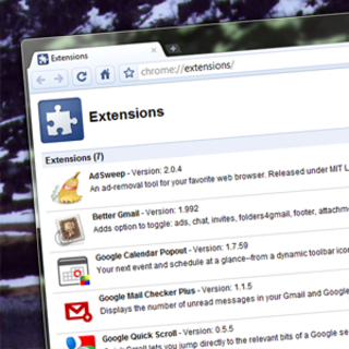 Chrome extensions emerge from beta