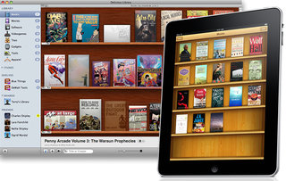 Separated at birth: Apple iBook Store and Delicious Library
