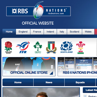 WEBSITE OF THE DAY – 6 Nations