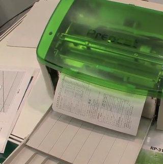 VIDEO: Amazing eco PrePeat printer reuses paper