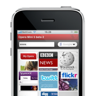 Opera to demo iPhone browser at MWC