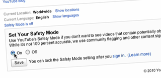 VIDEO: YouTube offers opt-in Safety Mode