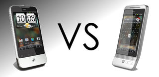 HTC Legend vs HTC Hero