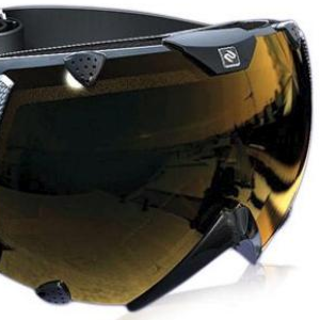 VIDEO: Ski goggles get data HUD