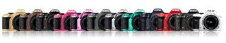 Pentax K-x launches in eight colours