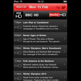 Freeview offers free iPhone app